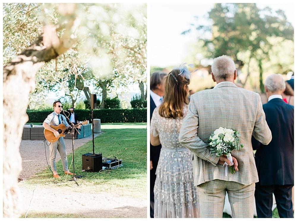 live musique au vin d'honneur de mariage