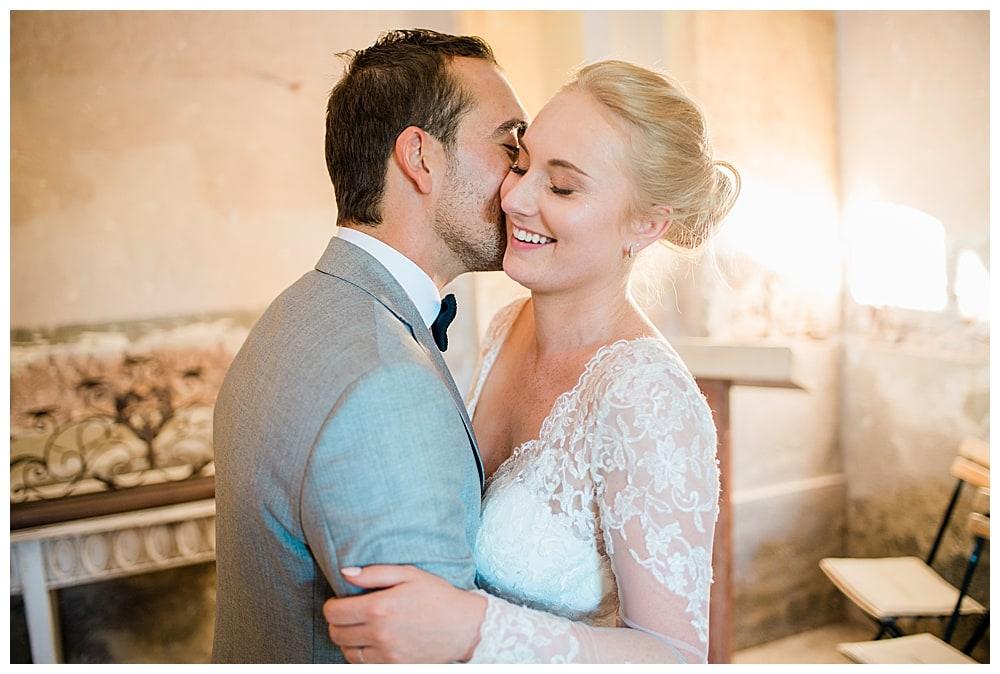 couple de mariés chapelle mariage