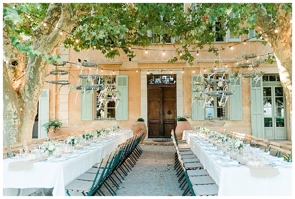 repas au Chateau des Demoiselles