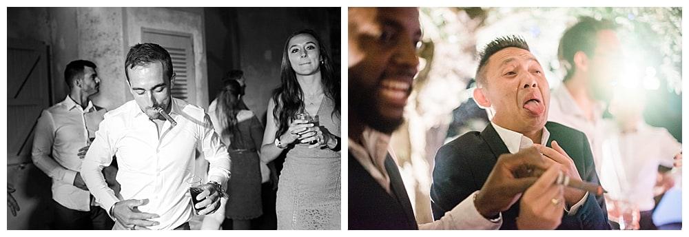 Danse et fous rire mariage