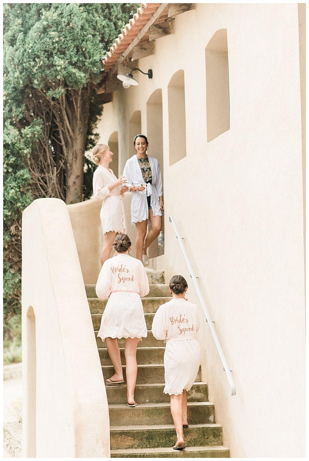 Préparatifs de mariage au Domaine Souviou