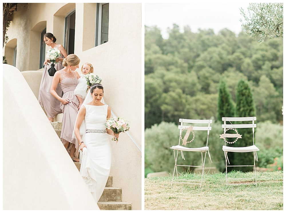 Préparatifs de mariée au Domaine Souviou