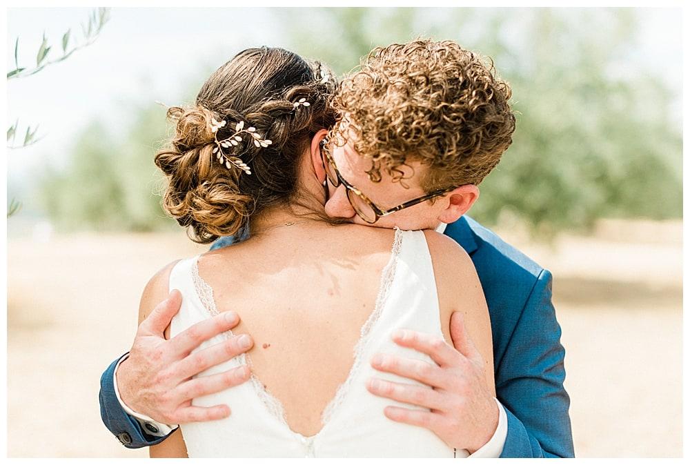 couple de marié dans le sud