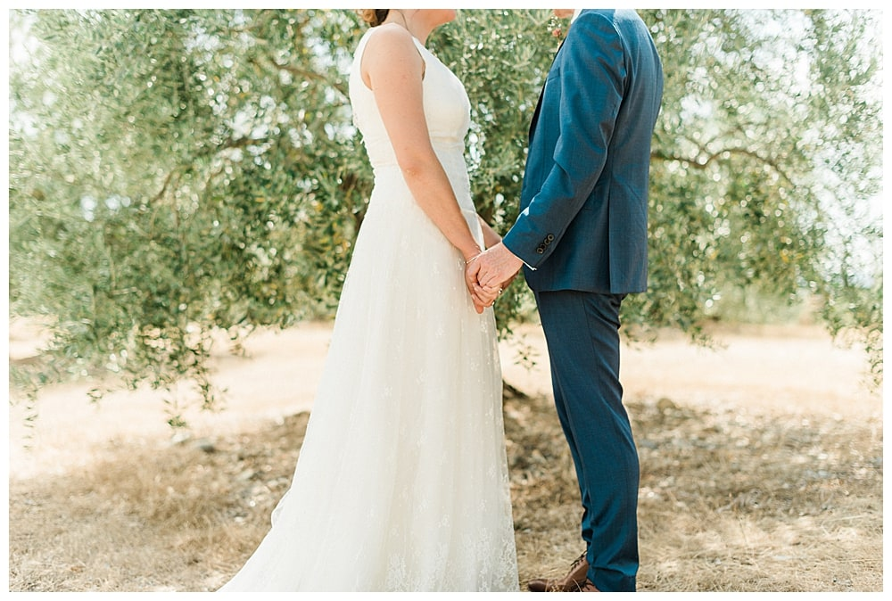 mariés oliviers