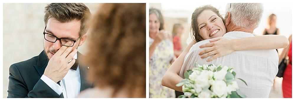 émotions mariage cote d'azur
