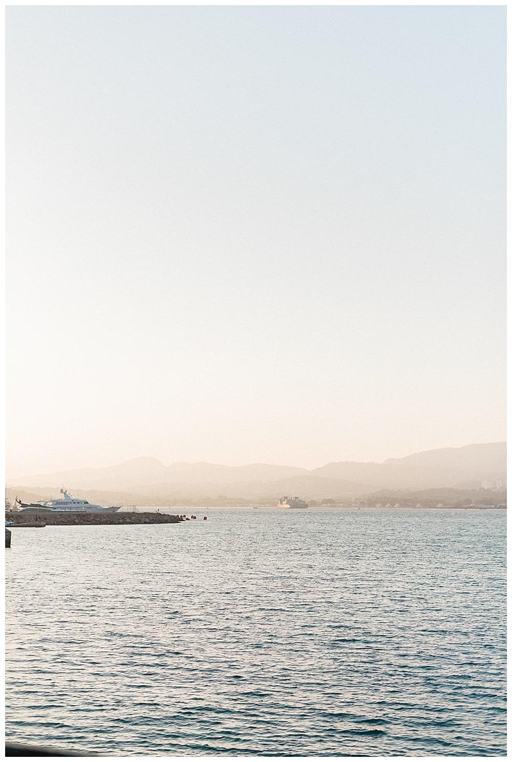 paysage de cote d'azur