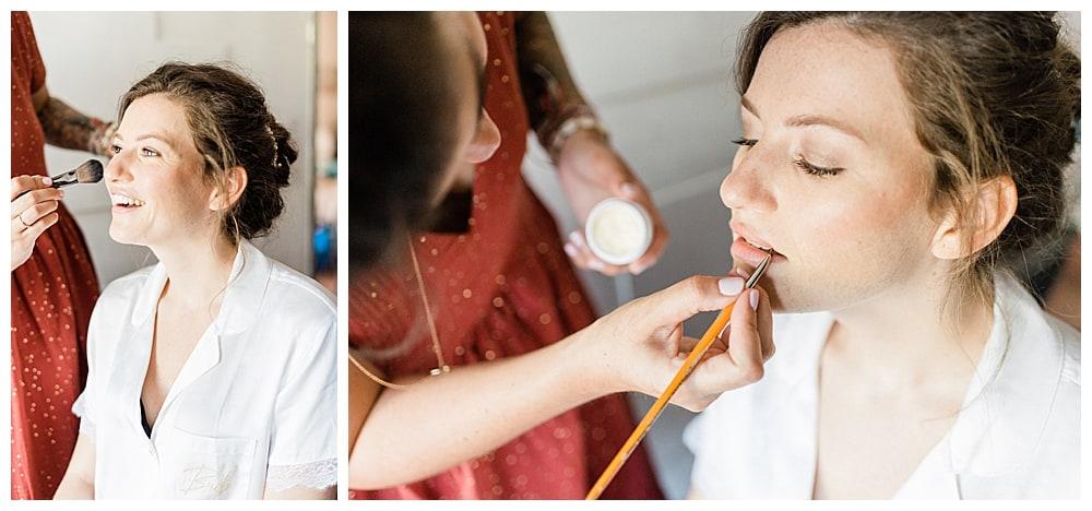 maquillage mariée sur la Cote d'Azur