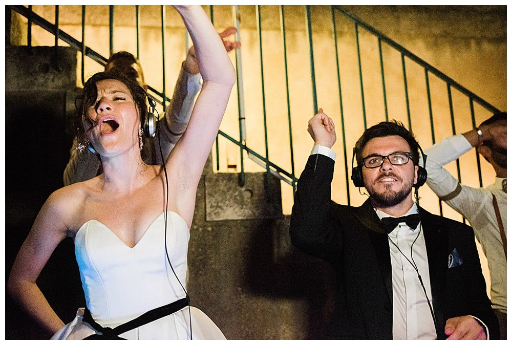 mariés qui mixent sur la cote d'azur