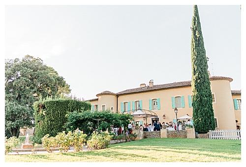 Chateau Les Crostes Mariage